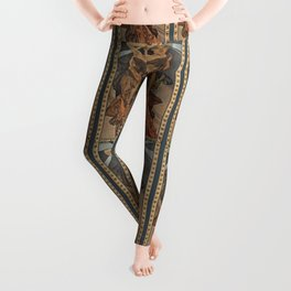 "Alphonse Mucha ""The Moon and the Stars Series: The Morning Star"" Leggings"