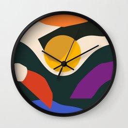 Jazz Fest Wall Clock