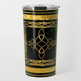 Folk Art Deco Travel Mug