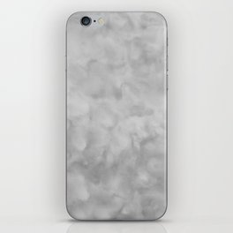 Soft Gray Clouds Texture iPhone Skin