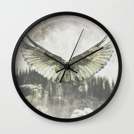 Wilderness in my heart Wall Clock