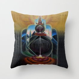 The Art of Acceleration Throw Pillow