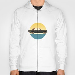 Mercedes 200 at Sunset Hoody