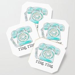 Vintage hone Ring Ring Coaster