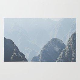 Mountains around Machu Picchu Rug