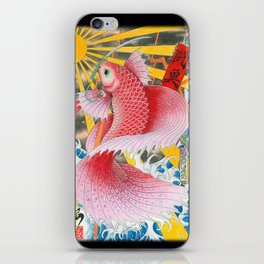 betta  fish  iPhone Skin