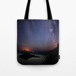 Crater Lake Galaxy Tote Bag