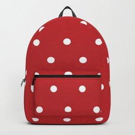 POLKA DOTS RED #minimal #art #design #kirovair #buyart #decor #home Backpack