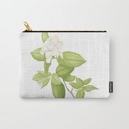 Gardenia Flower Carry-All Pouch