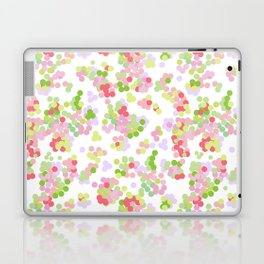 Pointillism . Pink and green . Laptop & iPad Skin