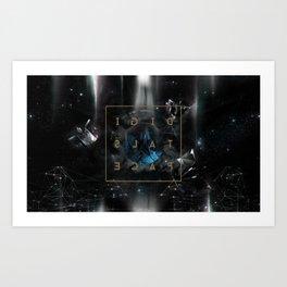 DigitalSpace Art Print