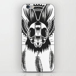 Bunny Skull iPhone Skin