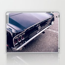 Black Mustang Laptop & iPad Skin