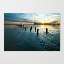 Color My World Blue Canvas Print