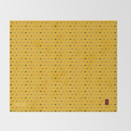 Big N Pixel Consoles Throw Blanket