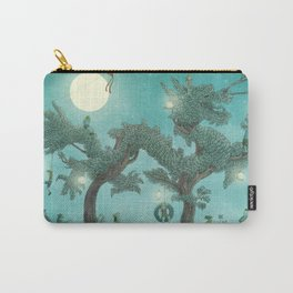 The Night Gardener - Dragon Tree night option  Carry-All Pouch
