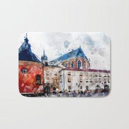 Cracow art 21 #cracow #krakow #city Bath Mat