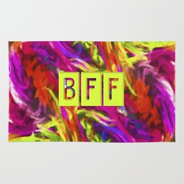 BFF - Best Friends Forever! Rug