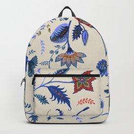 Patterns on Beige by Fanitsa Petrou Backpack