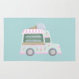 Ice Cream Truck Rug