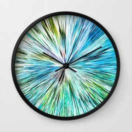481 Abstract Orb Design Wall Clock