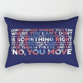 Civil War Quote Rectangular Pillow