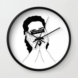 leave me malone Wall Clock