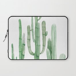 Three Amigos White + Green by Nature Magick Laptop Sleeve