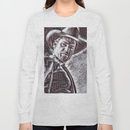 Justified - Timothy Olyphant Long Sleeve T-shirt