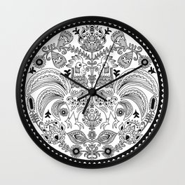 Second of All Wall Clock