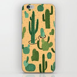 The Snake, The Cactus and The Desert iPhone Skin