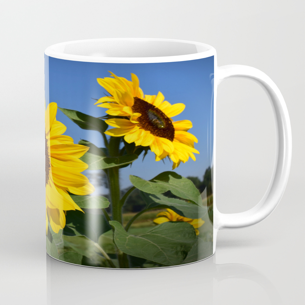 Sunflower_30 Tea Cup by Minher36 MUG8918660