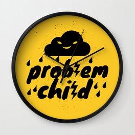 Problem Child Wall Clock