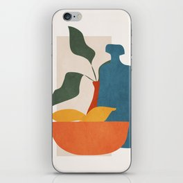 Minimalist Still Life Art iPhone Skin