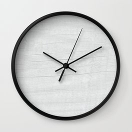 Gray Weathered Wood Wall Clock