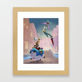 Fun Dreamings Framed Art Print