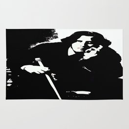 Oscar Wilde Rug
