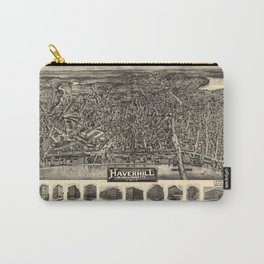 Aerial View of Haverhill, Massachusetts (1914) Carry-All Pouch