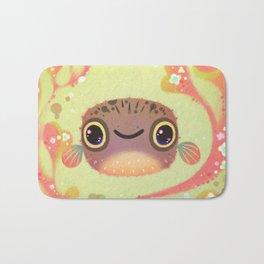 Smiling puffer Bath Mat