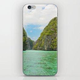 Paradise landscape El Nido Palawan Philippines iPhone Skin
