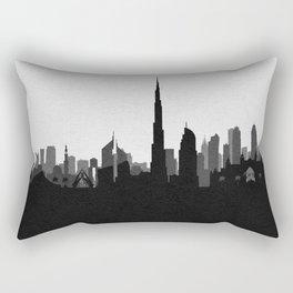 City Skylines: Dubai Rectangular Pillow