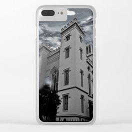 LOUISIANA ARCHITECTURE Clear iPhone Case