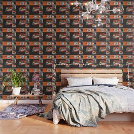 Route 66 Classic Living Wallpaper