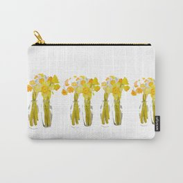 Daffodils watercolor Carry-All Pouch