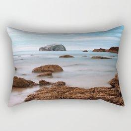 Bass Rock Rectangular Pillow