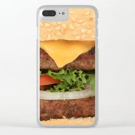 Burgerz Clear iPhone Case