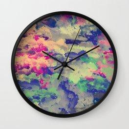 Abstract painting X 0.3 Wall Clock
