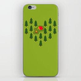 Camping Love iPhone Skin