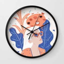 Thinkin About Kissin You Wall Clock