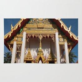 Wat Suwan Khirikhet, Karon Temple, Phuket, Thailand Rug